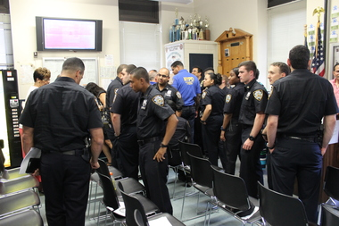 The 42nd Precinct has received 38 additional officers for at least six months.