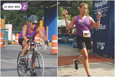 The NYC triathlon brings 4,000 competitors to the city.