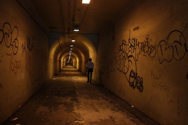 It's unclear who is responsible for maintaining the tunnel that leads to the 191st St. 1 Train Station.