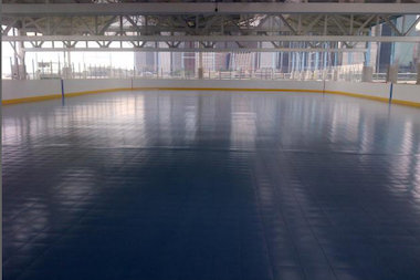 Brooklyn Bridge Park's roller skating rink at Pier 2 will officially open Friday afternoon.