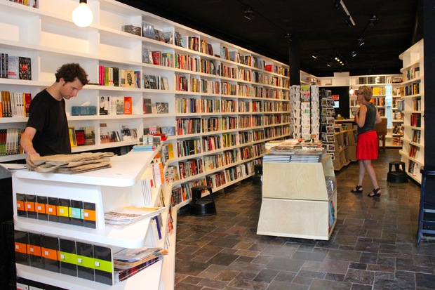 St. Mark's Bookshop moved into a new storefront at 136 E. Third St. near Avenue A.