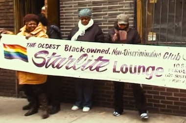 A new documentary about the Starlite Lounge in Crown Heights, Brooklyn will premiere on July 25 at the NewFest Film Festival.