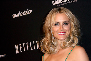 "Taylor Schilling of ""Orange is the New Black,"" one of the many shows that shoots at Kaufman Astoria Studios."