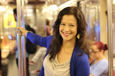 Terri Trespicio, a dating and relationship expert, advised to use subway oddities like a loud mariachi band as fodder for conversations with a commuter crush.