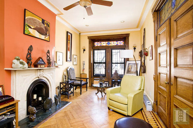 Brooklyn townhouses with open houses this weekend.