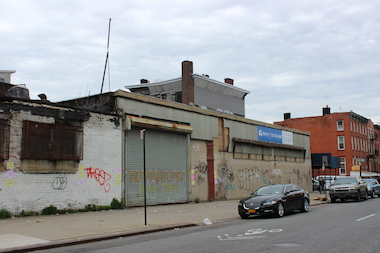 This former industrial block in north Crown Heights sold for $17.5 million to a development company that plans to build an 119-unit building there.