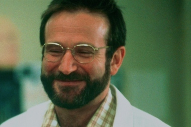 "Robin Williams played Dr. Malcolm Sayer in the 1990 film ""Awakenings,"" co-starring Tribeca Cinemas co-founder Robert De Niro."