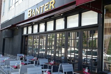 Banter Irish Pub and Kitchen has already installed 11 tables along 71st Road last week, and is planning to add six more next week.