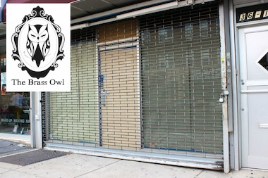 The Brass Owl will open in September at 36-19 Ditmars Blvd. selling shoes, jewelry and accessories.
