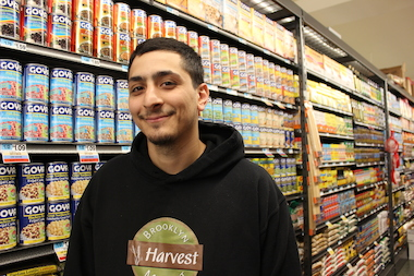 Brooklyn Harvest Market manager Ramzy Abed said that shoppers should feel comfortable suggesting more products.