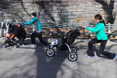 Central Queens Y will offer a workout class for parents with children in strollers this fall.