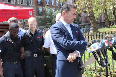 FDNY Commissioner Daniel Nigro said the deadly fire was caused by an overloaded power strip.