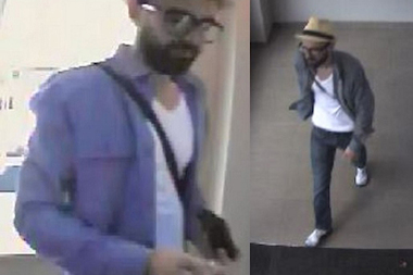 Police are looking for a man they say robbed four ATMs in May and June.�