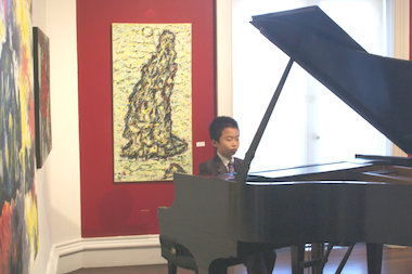 Piano prodigy Huang Tiange, 10, will perform in October as part of Flushing Town Hall's full slate of fall shows.