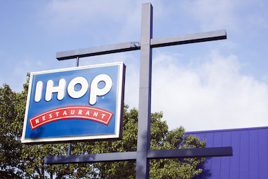 An IHOP employee who called himself a