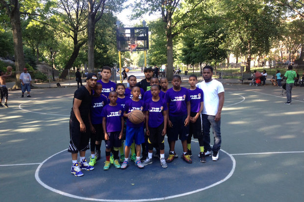 The youth summer basketball league has been in East Harlem for 14 years.