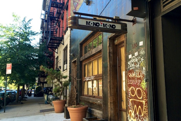 Mono+Mono's Korean fried chicken and extensive record collection could back next month, a manager said.
