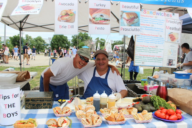 DNAinfo New York spoke to vendors at Brooklyn's food festivals about their summers.