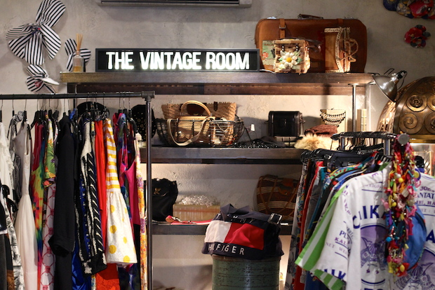 Mark Rosado and Summer Mizera recently open the Vintage Room after starting their separate vintage clothing businesses at the Hester Street Fair.