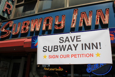 Dive bar Subway Inn is raising money in a last-ditch attempt to stay open.