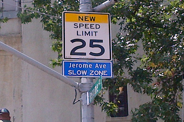 Jerome Avenue between East 161st Street and Bainbridge Avenue is kicking off New York City's second round of slow zones.