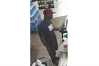 Police are looking for this man who they say bought $207 worth of groceries from a Staten Island Key Food Supermarket using a stolen credit card.