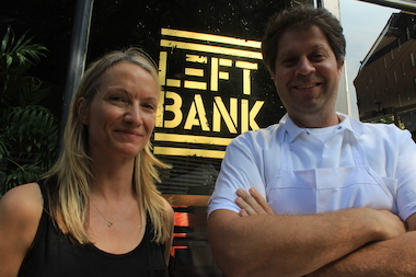 Micheline Gaulin and chef Laurence Edelman, the owners of Left Bank, are working with Fairway Market and Satur Farms to raise money for the No Kid Hungry Campaign.