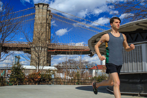 OnlyAtoms is a new Boerum Hill-based running company that specializes in clothes for the sport.