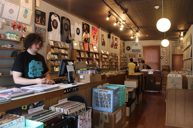 Permanent Records, 181 Franklin St., is closing its Greenpoint store.
