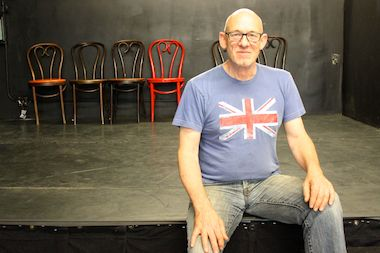 Richard Mazda, artistic director of The Secret Theatre, launched an online fundraiser to help the theater through a financial slump.