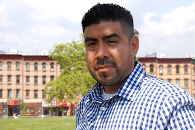 Rob Aguilar, a lifelong Sunset Park resident, has started a new podcast series to give locals a platform to talk about their neighborhood.