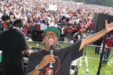 "Spike Lee in 2009 during ""Brooklyn Loves Michael Jackson,"" a celebration of the late artist's life."
