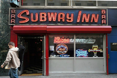 Subway Inn, located at 143 E. 60th St., will reopen on Second Avenue.
