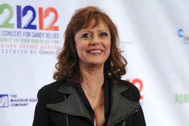 Susan Sarandon's apartment was robbed on Saturday, police said.