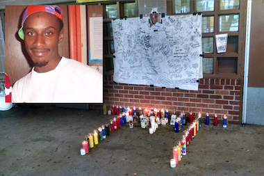 Terrell Day was shot and killed inside the East River Houses, police said.