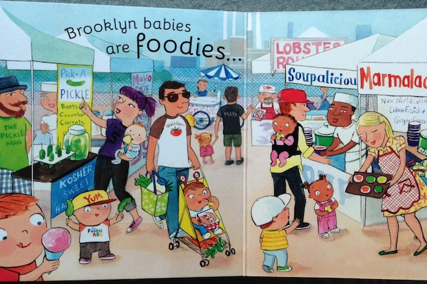 Brooklyn Baby is a children's book about the day in the life of a baby living in Brooklyn.