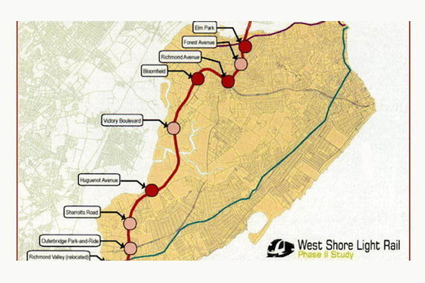 Mta allocates 4m to study rail between staten island and for West elm long island