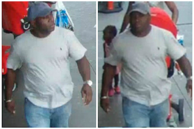 A 33-year old woman who hung her handbag on her stroller while grocery shopping at Fairway Market got her wallet snatched, and the NYPD released photos of the suspect.