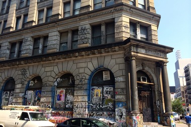 Businesses will soon be able to lease space in a former bank building built in 1898 on the corner of Bowery and Spring Street.