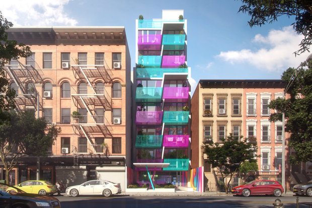Over the last year, HAP has invested more than $100 million in six developments throughout East Harlem. The developments will have more than 100 total units and HAP isn't ruling out buying more lots, HAP CEO Eran Polack said.