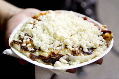 Viva La Comida! returns on Sept. 20 for an all-day event featuring the famous Arepa Lady, pictured.