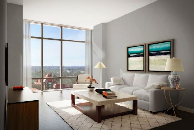 More than 60 percent of the units at the new development have already been sold.