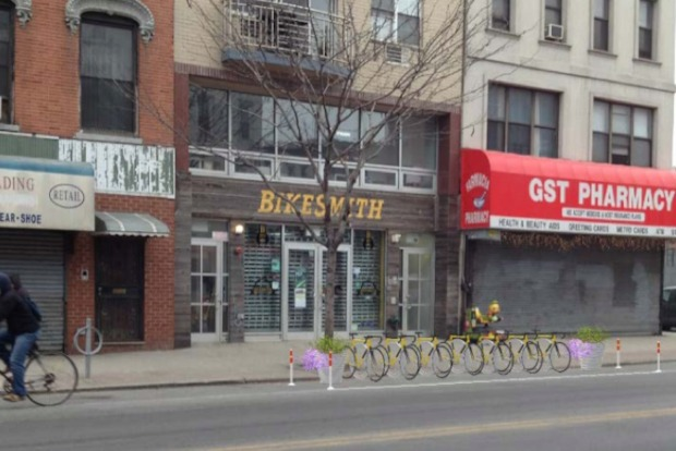 The NYC Department of Transportation and several local businesses are relaunching their bid to build bike corrals in Williamsburg.