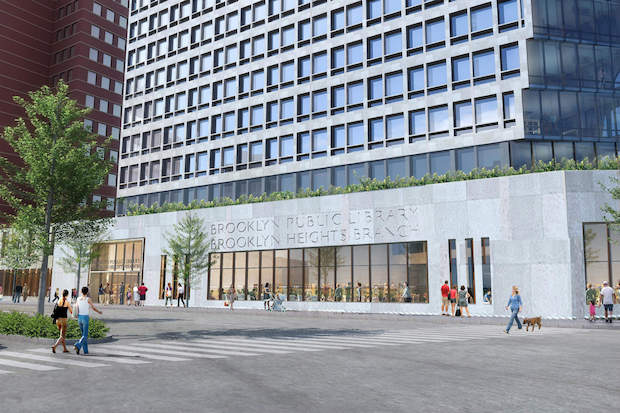 The Brooklyn Public Library is expected to approve a $52 million proposal from Hudson Companies that would build 114 affordable housing units in Community Board 2.