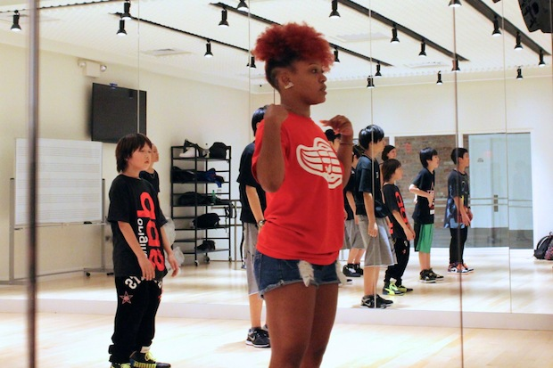 "Exile Professional Gym on Second Avenue between East First and Second streets, offers classes in hip-hop and house dance styles like break dancing and vogue, making it the first dance studio in the city to focus on ""street dance,"" said Sho Koshimura, the studio's public relations director."