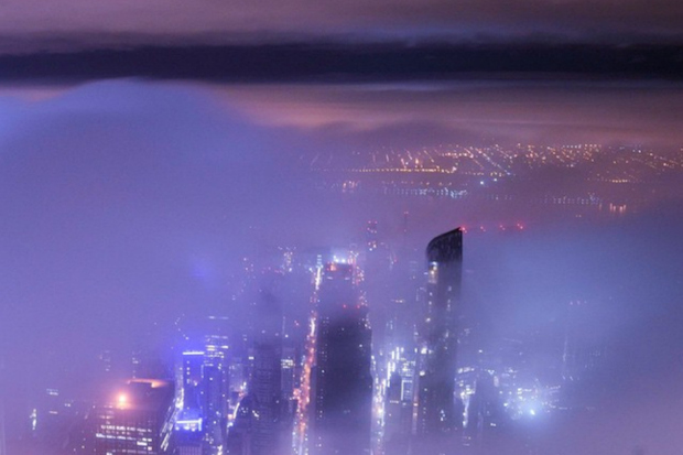 Demid Lebedev, 17, has posted Instagram photos he took from atop skyscrapers in New York City including 432 Park Ave.