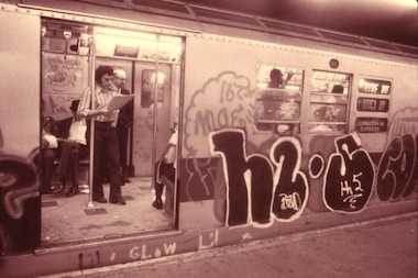 Nightmare: New York, a haunted house opening in the Lower East Side this week, will include a walk through a graffiti-covered subway car during from the 1980s.