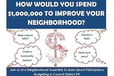 CIty Councilwoman Karen Koslowitz is launching participatory budgeting in her Queens district.