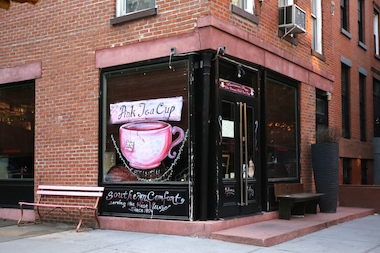 Tommy McFarland is the superintendent of 120 Lafayette Ave. where Pink Tea Cup is housed.