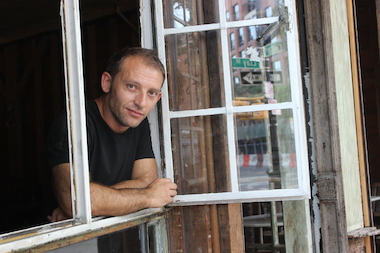 Tommaso Mazzoni, owner of Milk and Roses, said a man tried to stab him after entering his cafe over the weekend.
